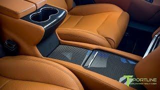 Project Trofeo, a Customized Black Tesla Model S P100D with Ferrari Tan Interior