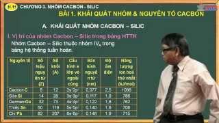 Bài giảng môn Hóa 11 - Chương 3. Nhóm cacbon, silic - Bài 1. Cacbon & bài tập