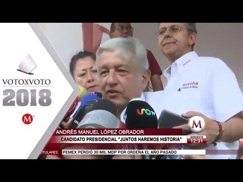 AMLO acusa que Presidencia intervino en candidatura de 'El Bronco'