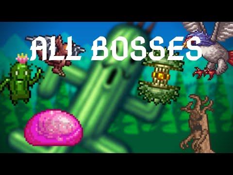 Terraria: Joost Mod All Bosses + Quest Mini-Bosses