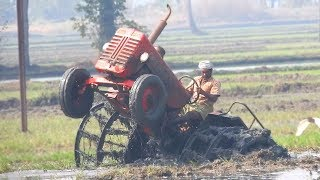 Tractor Videos On Tractor | Tractors stuck in Mud FAILS compilations