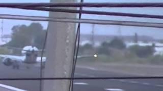 Humo en el motor izquierdo Aeromexico Embraer 190