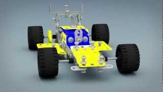 Erector Set Car-3ds Max