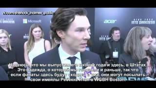 Бенедикт Камбербэтч о Шерлоке Холмсе