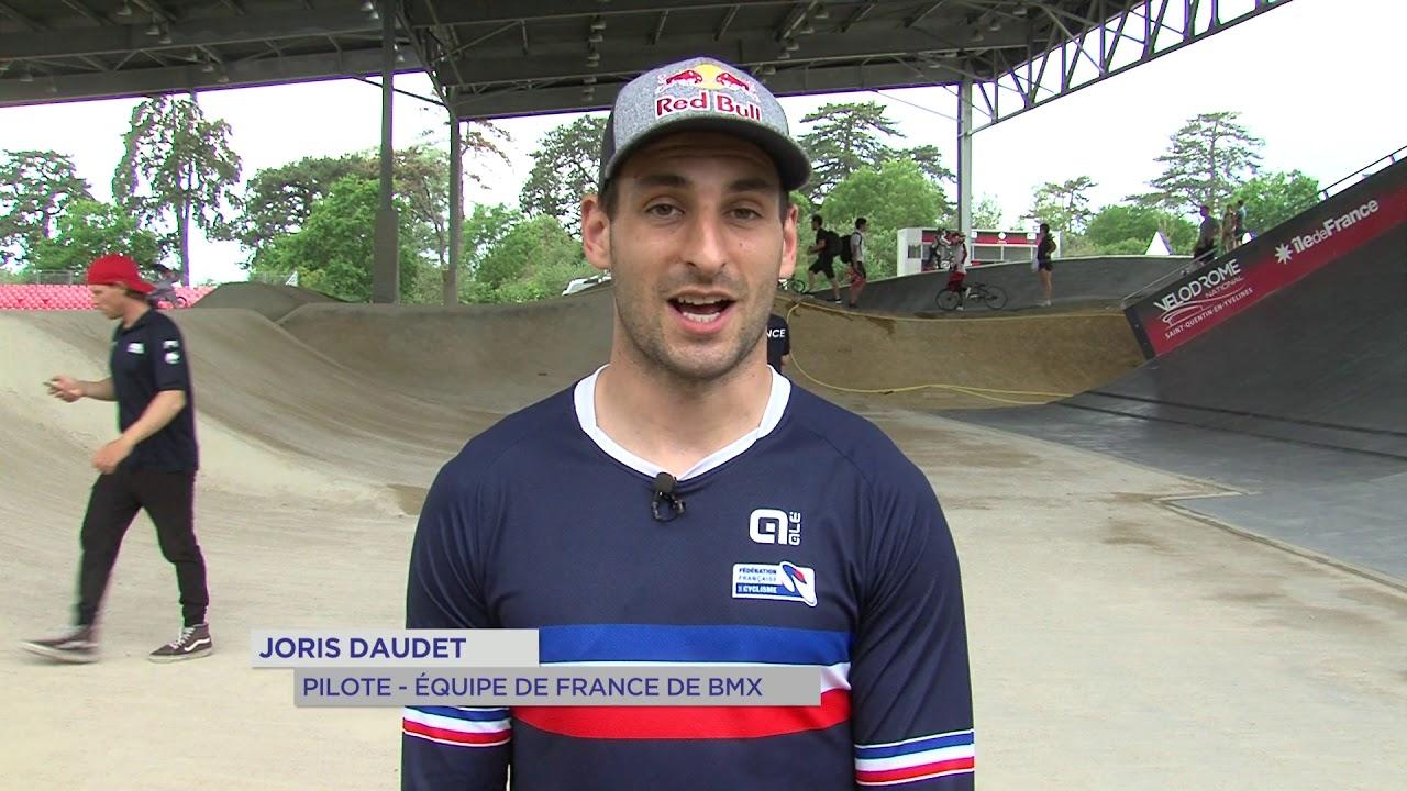 Yvelines | BMX: 3 questions à Joris Daudet
