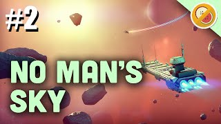 No Man's Sky Gameplay | A NEW SOLAR SYSTEM & UPSETTING SPIRITS! Let's Play Part 2 (PS4)