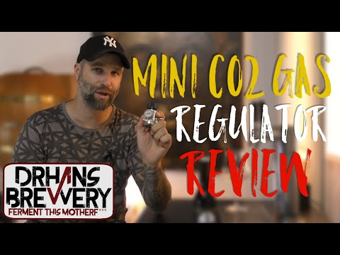 Beer Gear Review Co2 regulator- Mini CO2 Gas Regulator