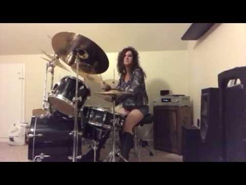 Van Halen Feelin' ~ Drum Cover by Denise mp3