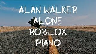 ROBLOX [] Alan Walker - Alone [] Piano