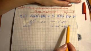 Окислительно-восстановительные реакции. Метод электронно-ионного баланса.