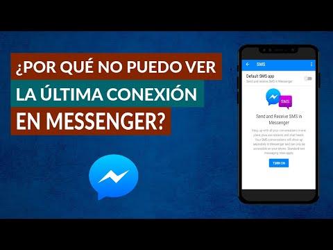 Por qué NO Puedo ver la Última Conexión de Facebook Messenger