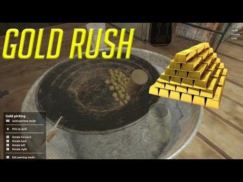 Gold Rush The Game mining gold tutorial -  We got some gold  - Gold Rush The Game Starting out