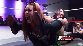 [Free Match] Veda Scott vs. Alexis Rose | Women's Wrestling Revolution (SHIMMER SHINE WSU Stardom)