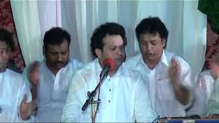 Asif ali Santoo Qawwal 2012 milad syed e konain 2012 gujrat  part 2