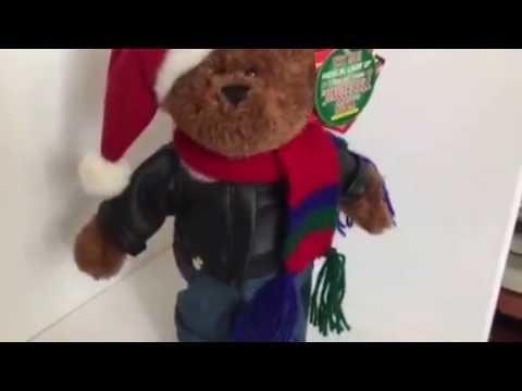 Christmas Musical Toy:  Bear sings Jingle Bell Rock   For sale: http://www.ebay.com/usr/leefamstore4