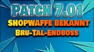 Patch 7.01 und die Bru-Tal Endboss Belohnung! | Fortnite Rette die Welt