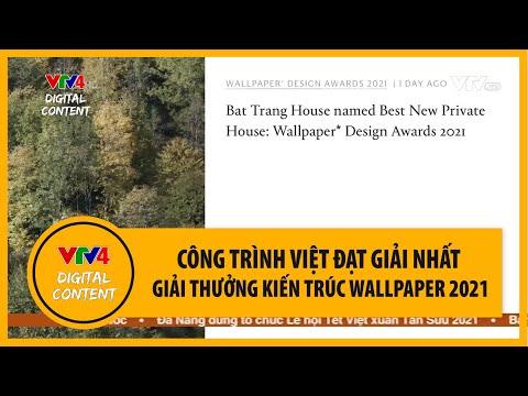 Nhà Bát Tràng - Công trình Việt đạt giải nhất Giải thưởng Kiến trúc Wallpaper 2021 | VTV4