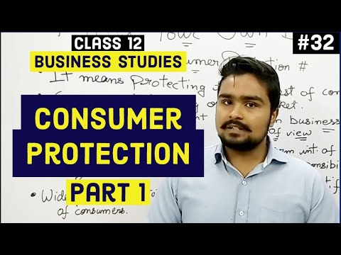 Class 12 business studies (consumer protection and legal laws) mind your own business video 32