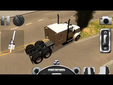 เกมขับรถบรรทุก รถปูน รถตักดิน รถดับเพลิง : Truck Driver