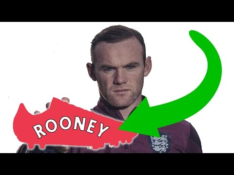Wayne Rooney's New Boots?! What Is He Wearing Now?
