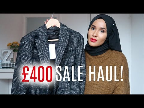 JANUARY SALES HAUL 2018 | Zeinah Nur