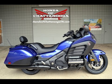 2015 f6b deluxe gold wing for sale chattanooga tn ga al honda of chattanooga gl1800bdf youtube. Black Bedroom Furniture Sets. Home Design Ideas