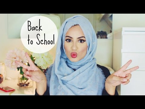 Back To School/Work/College : Hijab Tutorial!