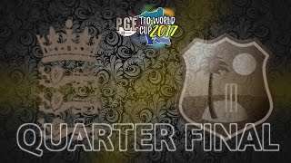 quarter final pge t10 world cup 2017 england v west indies match 31