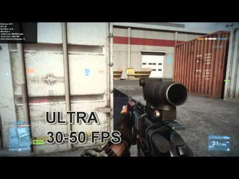 Battlefield 3 | GTX 560 Ti Benchmark Testing | i5 2500K | All settings