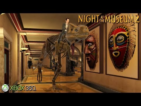 Night at the Museum 2 - Xbox 360 / Ps3 Gameplay (2009)