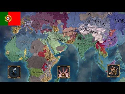 Portuguese Colonial Empire EU4 Timelapse