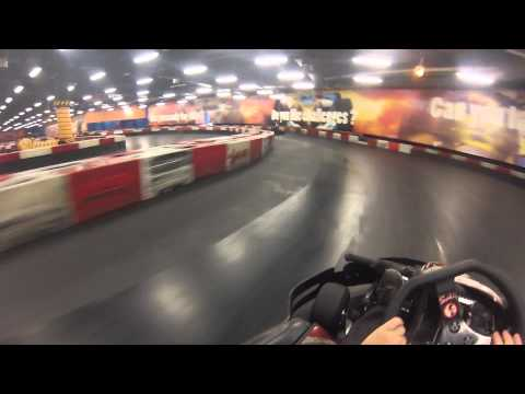 GoPro Test Run Villagio Mall Karts