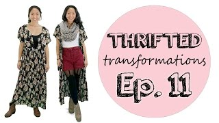 Thrifted Transformations | Ep. 11 (DIY Kimono Cardigan)