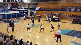 Benjamin Nguyen Deer Valley 17-18 volleyball highlights
