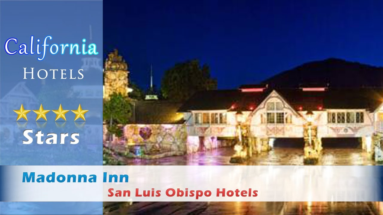 madonna inn san luis obispo hotels california youtube