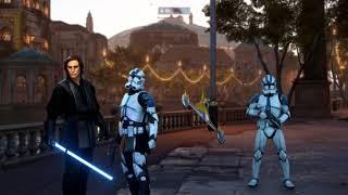 ANAKIN SKYWALKER (MOD) DEFENDS NABOO - Star Wars Battlefront 2