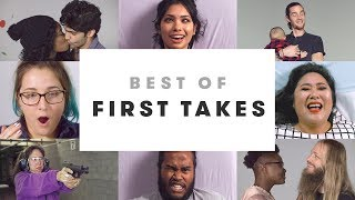Best Slow Motion Reactions | Best of First Takes | Cut