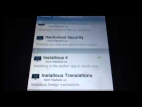 Como bajar installous iOS 6.0.1  de cydia ipod,iphone,ipad Videos De Viajes