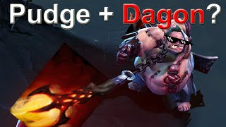 Dota 2: Dagon Pudge - Zero skills, all the kills