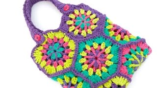How To Crochet the Strawflower Hexagon Tote, Episode 239