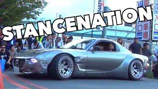 豪快な搬出!! 「スタンスネーション 2016 東京」カスタムカー搬出の様子 [HD] StanceNation Japan 2016 custom car carry-out!