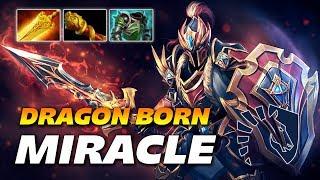 Miracle Dragon Knight - DRAGONBORN - Dota 2 Pro Gameplay