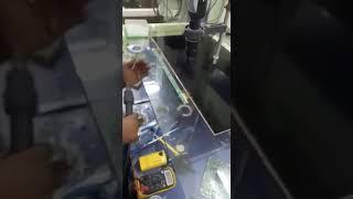 Home made LCD bonding machine