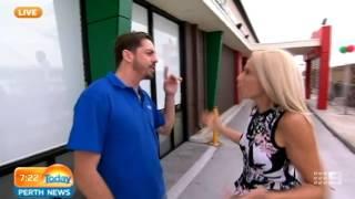 Krispy Kreme Whitfords opening Part 1   Today Perth News