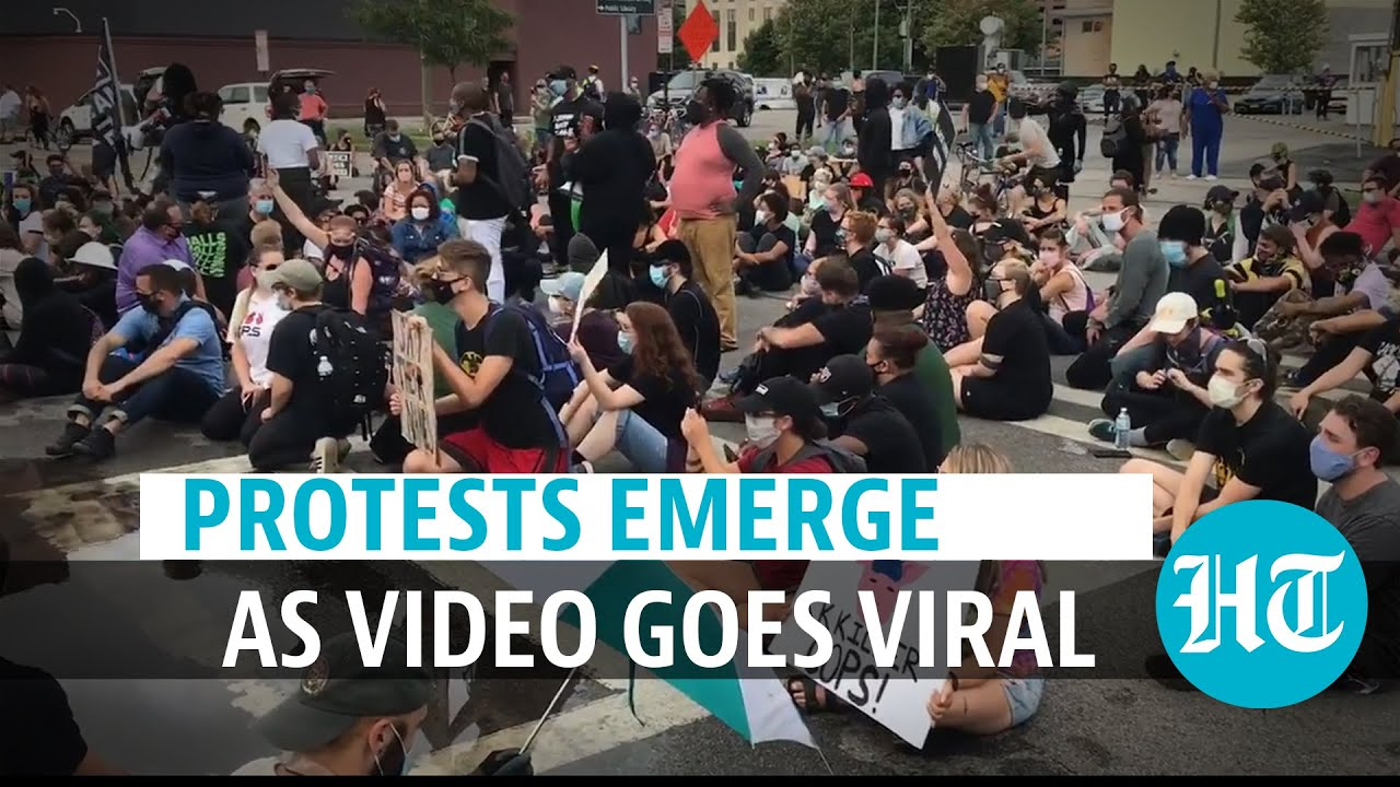 Watch: Protests in US after Black man dies of suffocation as cops put hood on him