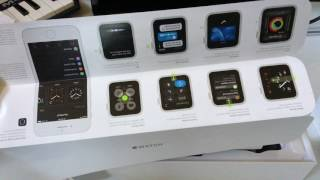 Unboxing Apple Watch Series 2 42mm Aluminum Space Gray!