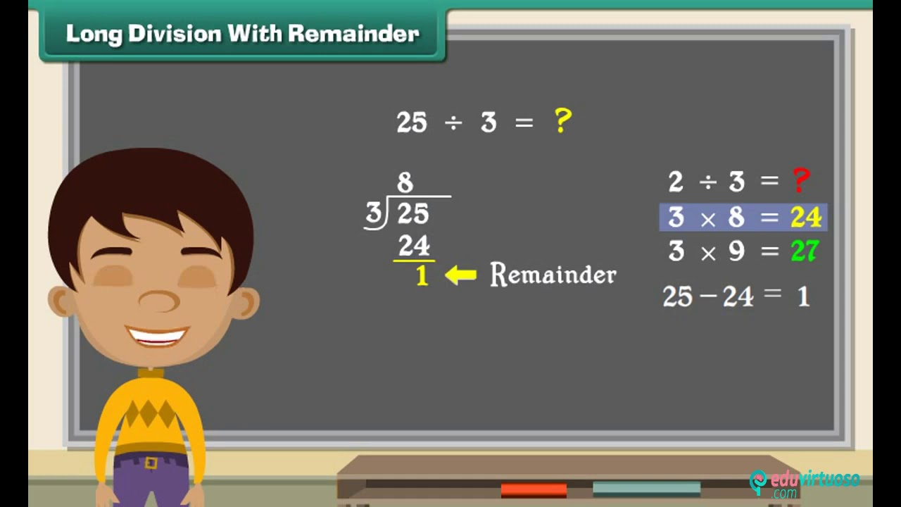 Division Class 3 Maths Cbse Icse Free Tutorial Youtube