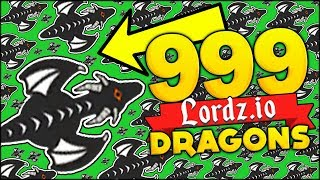 999 DRAGONS GAMEPLAY - HACKS?? UNBELIEVEABLE!! | LORDZ.IO TEAMING w/ Fady (Lordz.io Gameplay)