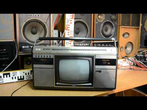 PHILIPS COMBI TC-10, TV Stereo Radio Recorder (W.Germany 1983)