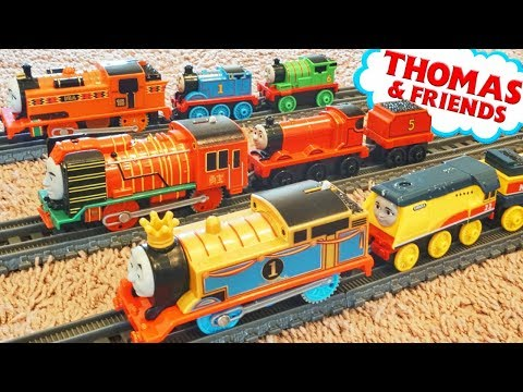 Thomas And Friends Trackmaster And New Push Along Rebecca Wide Take N Play Fits On Track